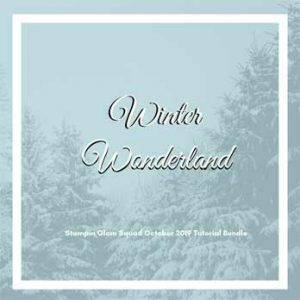 Winter Wonderland Stampin Glam Squad October 2019 Tutorial Bundle. Shop for Stampin Up products at theartfulinker.com Tutorials and Online Classes