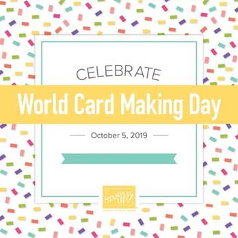 World Card Making Day October 2019. Shop for Stampin Up products at theartfulinker.com