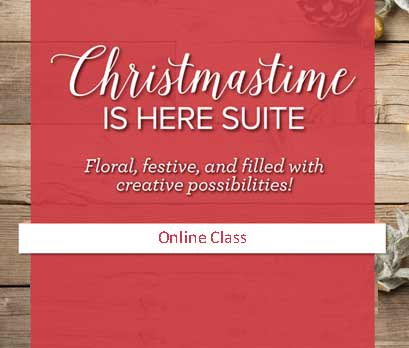 Christmastime is Here Suite and Online Class. Shop for Stampin Up products at theartfulinker.com