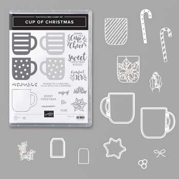 Cup of Christmas Bundle. Shop for Stampin Up products at theartfulinker.com