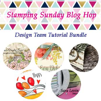Stamping Sunday December 2019 Tutorial Bundle - Birthdays. Shop for Stampin Up with Sara Levin at theartfulinker.com Tutorials and Online Classes