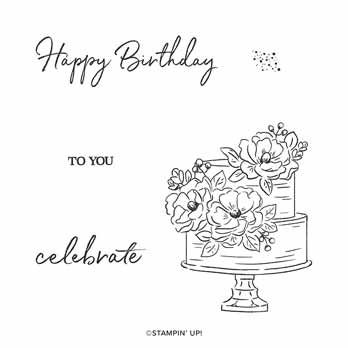 Happy Birthday To You stamp set. Shop for Stampin Up with Sara Levin at theartfulinker.com