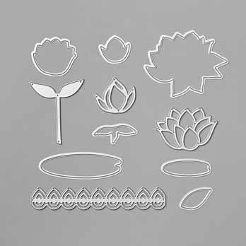 Lily Pad Dies Sale a Bration 2020. Shop for Stampin Up products with Sara Levin at theartfulinker.com