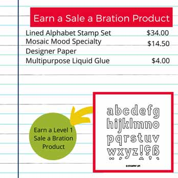 Lined Alphabet for Sale a Bration. Shop for Stampin Up products with Sara Levin at theartfulinker.com