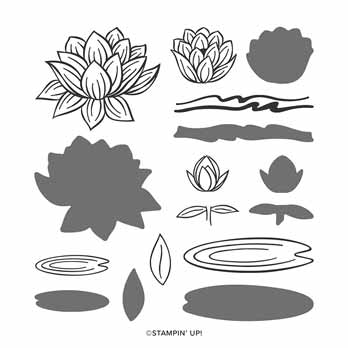 Lovely Lily Pad stamp set Sale a Bration 2020. Shop for Stampin Up with Sara Levin at theartfulinker.com