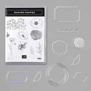 Stampin' Up! Painted Poppies Bundle. Shop for Stampin Up with Sara Levin theartfulinker.com