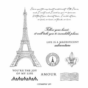 Parisian Beauty stamp set Stampin Up shop with Sara Levin at theartfulinker.com