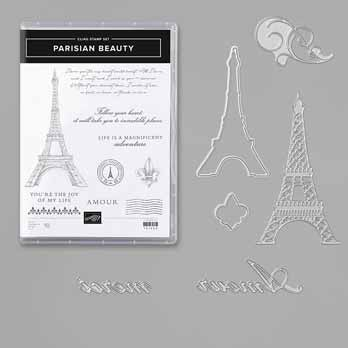 Parisian Beauty Bundle. Shop for Stampin Up with Sara Levin at theartfulinker.com