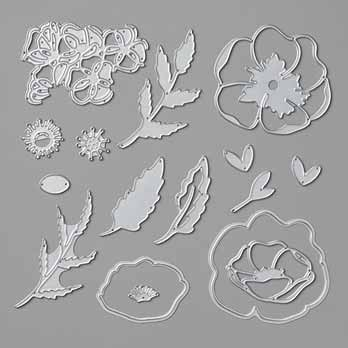 Stampin Up Poppy Moments Dies. Shop for Stampin Up with Sara Levin theartfulinker.com