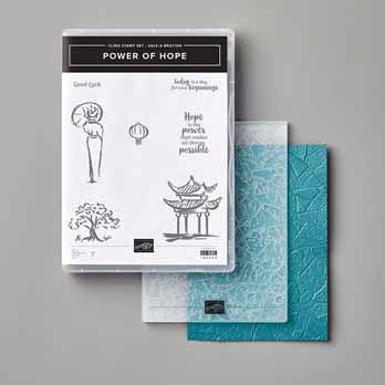 Power of Hope Bundle Sale a Bration 2020. Shop for Stampin Up with Sara Levin at theartfulinker.com