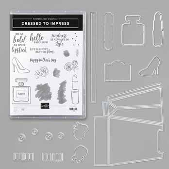Stampin Up Dressed to Impress Bundle. Shop for Stampin Up with Sara Levin at theartfulinker.com