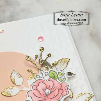 Happy Birthday To You Thank You. Shop for Stampin Up with Sara Levin at theartfulinker.com