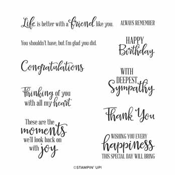 Stampin Up Peaceful Moments stamp set. Shop for Stampin Up with Sara Levin at theartfulinker.com