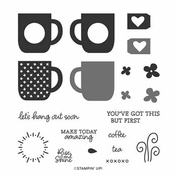 Stampin Up Rise and Shine stamp set Free during Sale a Bration. Shop for Stampin Up with Sara Levin at theartfulinker.com