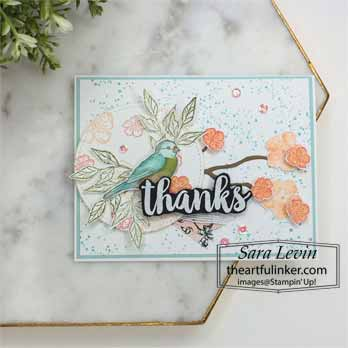 Seriously the Best with Free as a Bird card for Stamping Sunday Blog Hop Seriously the Best