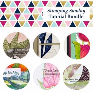 Stampin Up Timless Tulips Stamping Sunday Tutorial Bundle March 2020. Shop for Stampin Up with Sara Levin at theartfulinker.com