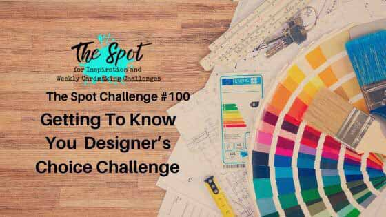 The Spot #100 TS100 cardmaking challenge. Shop for Stampin Up at theartfulinker.com