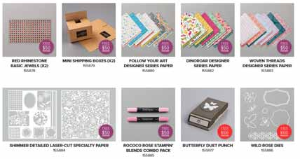 Stampin Up Sale a Bration third release products. Shop for Stampin Up with Sara Levin at theartfulinker.com