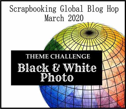 Scrapbooking Global March 2020 Blog Hop. Shop for Stampin Up with Sara Levin at theartfulinker.com
