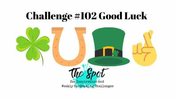 The Spot Creative Challenge 102. Shop for Stampin Up with Sara Levin at theartfulinker.com