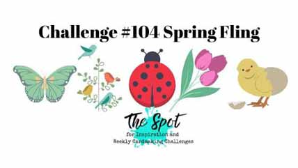 The Spot Creative Challenge 104. Shop for Stampin Up with Sara Levin at theartfulinker.com