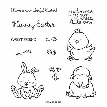 Stampin Up Welcome Easter stamp set. Shop for Stampin Up with Sara Levin at theartfulinker.com