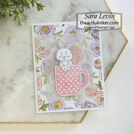 Welcome Easter with Rise and Shine. Shop for Stampin Up with Sara Levin at theartfulinker.com