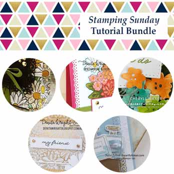 Stampin Up Ornate Garden Suite Tutorial Bundle from the Stamping Sunday Design Team. Shop for Stampin Up with Sara Levin at theartfulinker.com and receive it FREE.