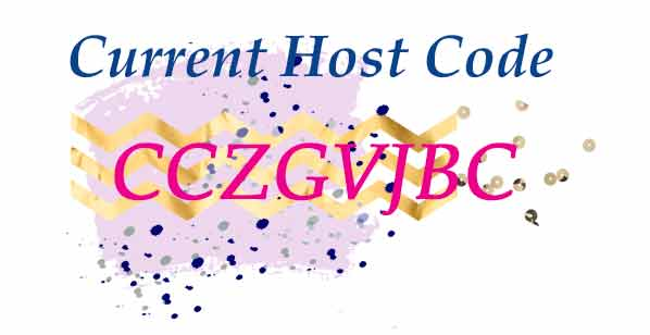 June 2020 Stampin Up Host Code CCZGVJBC