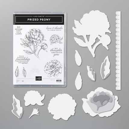 Stampin Up Prized Peony bundle Shop for Stampin Up with Sara Levin at theartfulinker.com