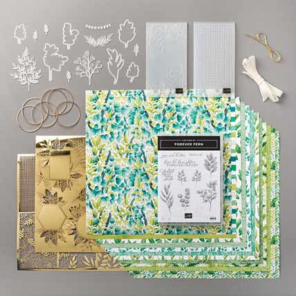 Stampin Up Forever Greenery Suite 154143 Shop for Stampin Up with Sara Levin at theartfulinker.com