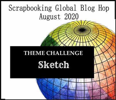 Scrapbooking Global Blog Hop August 2020 Shop for Stampin Up with Sara Levin at theartfulinker.com