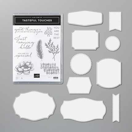Tasteful Touches Bundle Shop for Stampin Up with Sara Levin at theartfulinker.com
