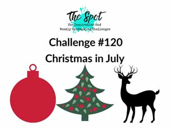 The Spot Creative Challenge 120 Christmas in July Shop for Stampin Up with Sara Levin at theartfulinker.com