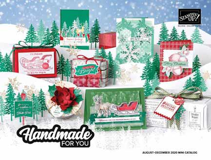 Stampin Up August - December Mini Catalog Shop Stampin Up with Sara Levin