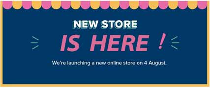 New Stampin Up store is here! Shop for Stampin Up with Sara Levin at theartfulinker.com