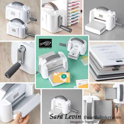 See the New Stampin Cut and Emboss Machine from Stampin Up Shop with Sara Levin at theartfulinker.com