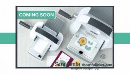NEW Stampin Cut and Emboss Machine