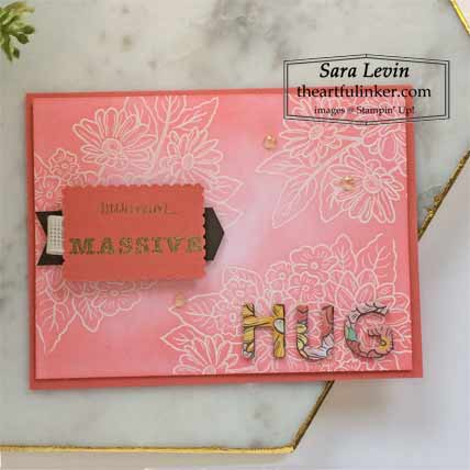Stampin Up Massive Thanks Ornate Style card for OSAT Blog Hop youve got this Shop for Stampin Up with Sara Levin at theartfulinker.com