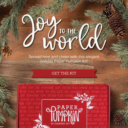 October 2020 Paper Pumpkin Joy to the World Subscribe to Paper Pumpkin with Sara Levin http://bit.ly/2LCixCw