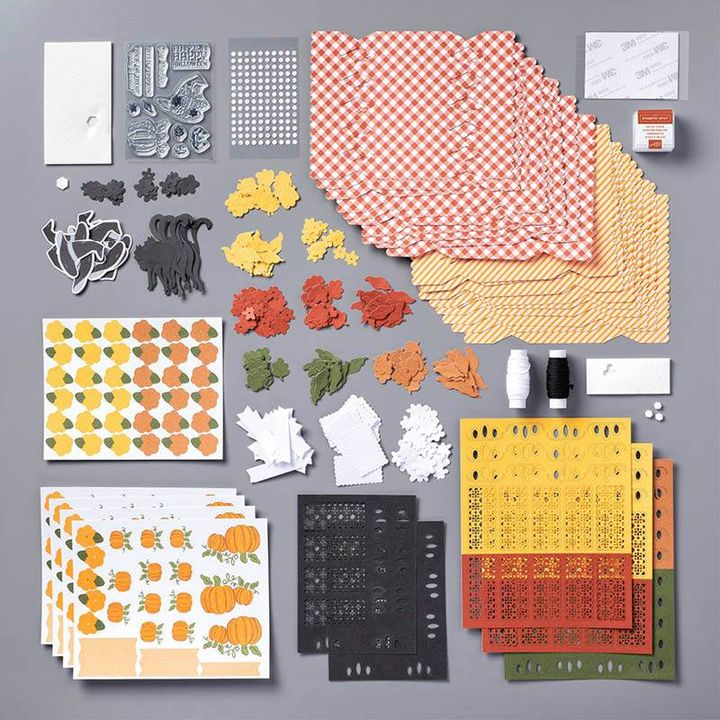 September 2020 Paper Pumpkin Kit contents Subscribe to Paper Pumpkin with Sara Levin at http://bit.ly/2LCixCw