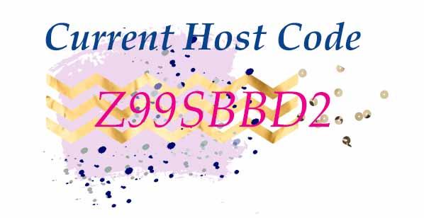 Shop Stampin Up with September Host Code Z99SBBD2