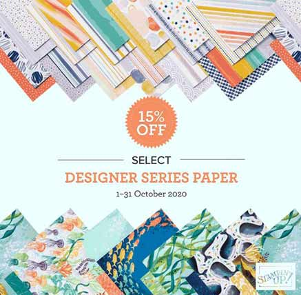 Stampin Up Designer Paper Sale Click to shop the sale
