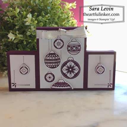 Podium Card A2 size with Ornamental Envelopes Shop for stampin up with Sara Levin at theartfulinker.com