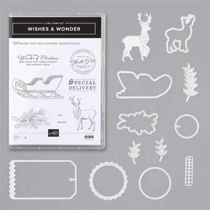 Stampin Up Wishes and Wonder Bundle Shop Stampin Up with Sara Levin USA