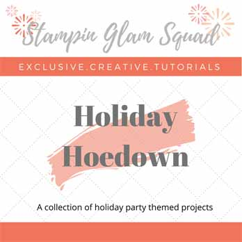 Stampin Glam Squad November Tutorial Bundle FREE with a $50 Stampin Up purchase from Sara Levin theartfulinker