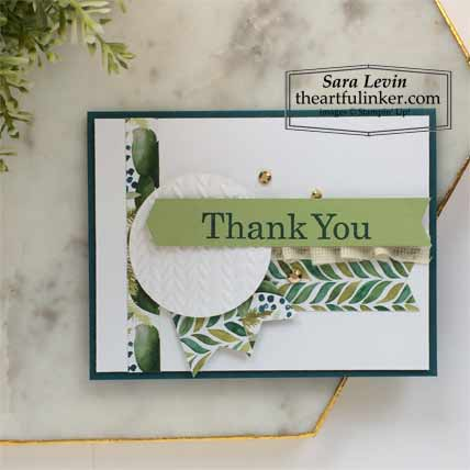 6 x 6 One Sheet Wonder Forever Greenery and Best Year Card 6 Stampin' Up! VIDEO TUTORIAL – Click for details – SHOP- ORDER STAMPIN' UP! PRODUCTS ONLINE. Purchase the $99 Starter Kit & enjoy a 20% discount! Tons of paper crafting ideas & FREE Online Classes theartfulinker.com