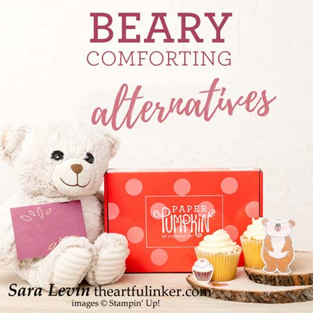 Beary Comforting December 2020 Paper Pumpkin alternatives Stampin' Up! VIDEO TUTORIAL – Click for details – SHOP- ORDER STAMPIN' UP! PRODUCTS ONLINE. Purchase the $99 Starter Kit & enjoy a 20% discount! Tons of paper crafting ideas & FREE Online Classes theartfulinker.com