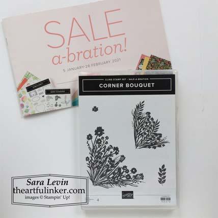 Corner Bouquet Sale a Bration stamp set