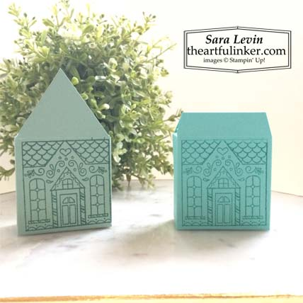 Jolly Gingerbread November 2020 Paper Pumpkin alternative house shaped favor boxes Stampin' Up! VIDEO TUTORIAL – Click for details – SHOP- ORDER STAMPIN' UP! PRODUCTS ONLINE. Purchase the $99 Starter Kit & enjoy a 20% discount! Tons of paper crafting ideas & FREE Online Classes theartfulinker.com